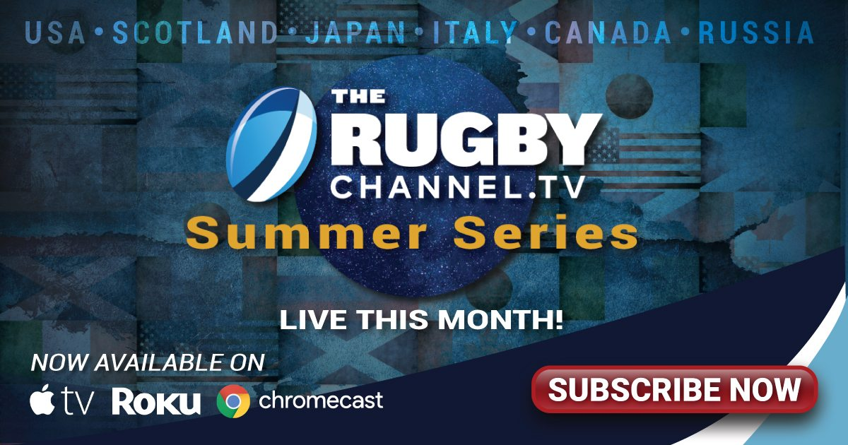 The Rugby Channel Now Available for Streaming on TV, Tablets