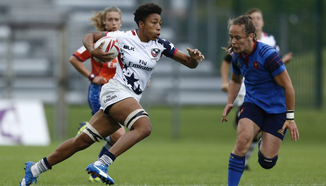 Griffin, Thomas selected to Women's Eagles Sevens' Sydney side