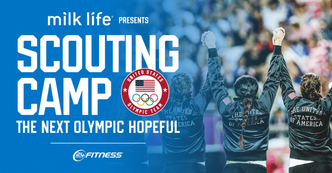 """U S  Olympic Committee unveils 90 finalists for """"Milk Life"""