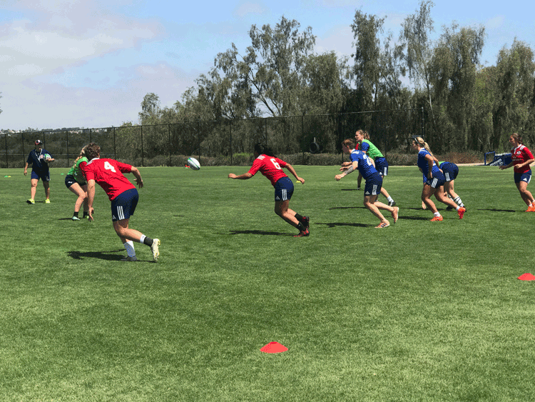 Women's Hawk Eye Program Begins in Conjunction with Rugby World Cup Sevens Preparation Camp