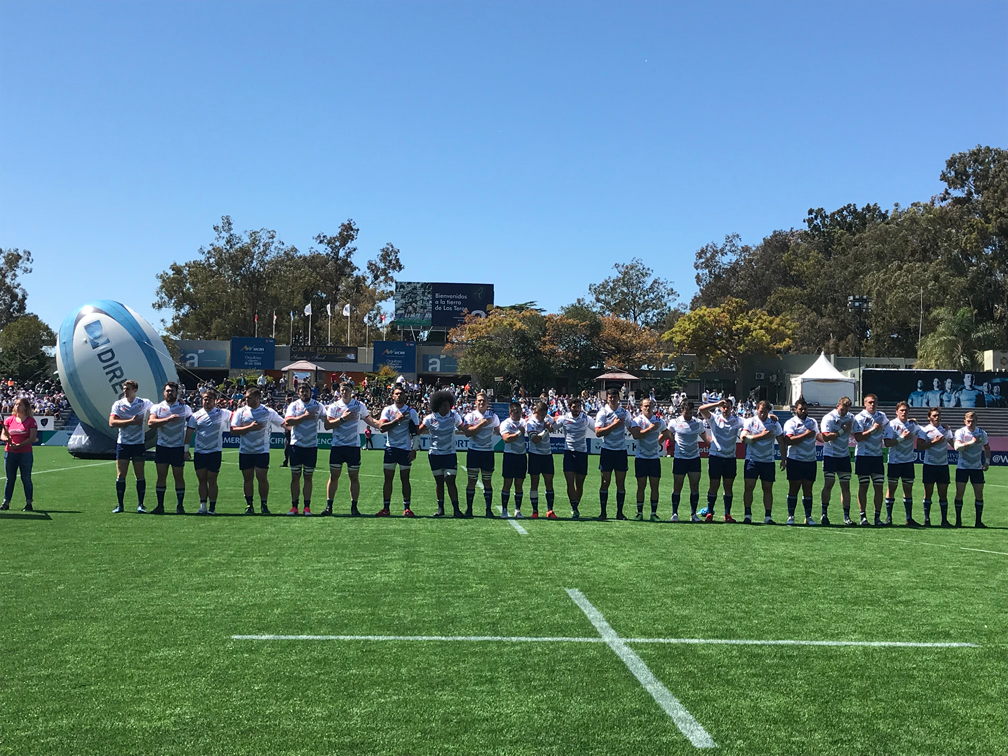 Men's Selects Fall to Uruguay XV in Match Two of Americas Pacific Challenge 2018