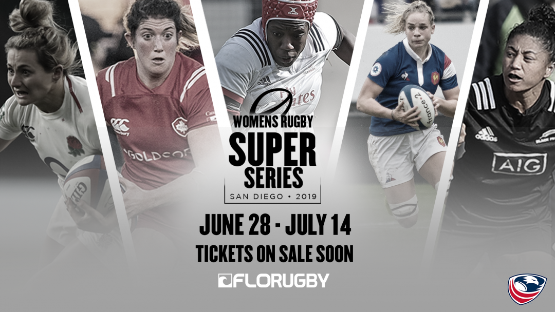 USA Rugby to host Women's Rugby Super Series 2019 in San Diego