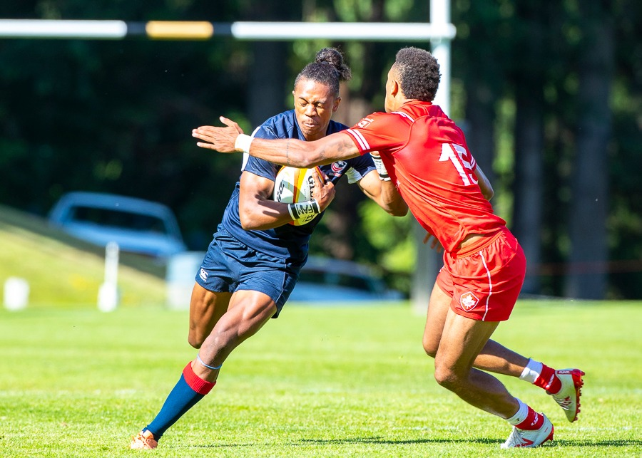 USA Men's U20s fall to Canada 33-44 in first of Trophy Qualifiers