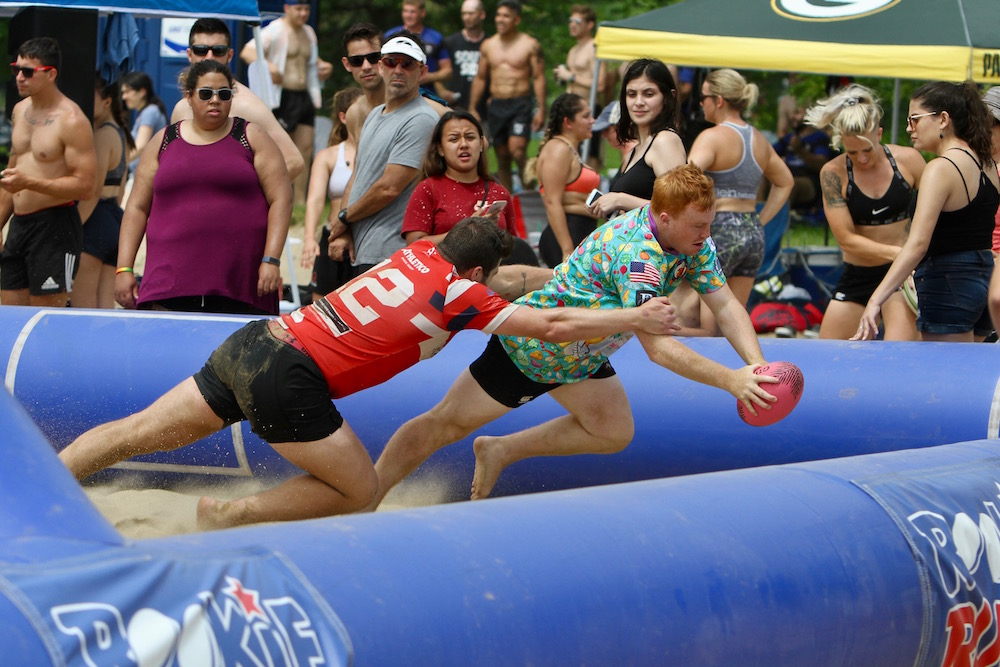 USA Beach Rugby makes its debut on a sandy pitch in Chicago