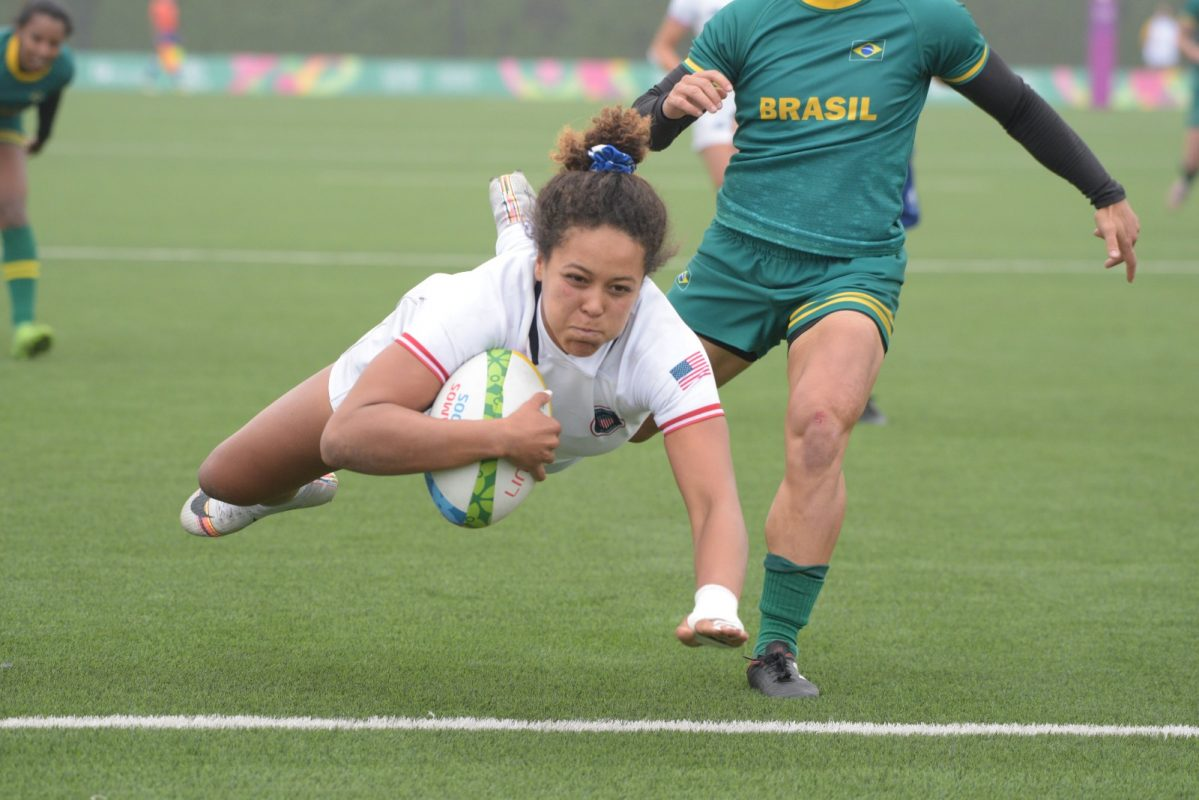 USA Women's Sevens win silver medal at Pan American Games Lima 2019
