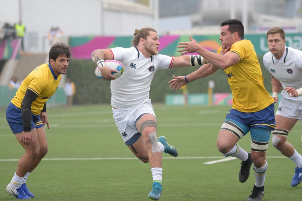 USA Men's Sevens win bronze medal at Pan American Games Lima 2019