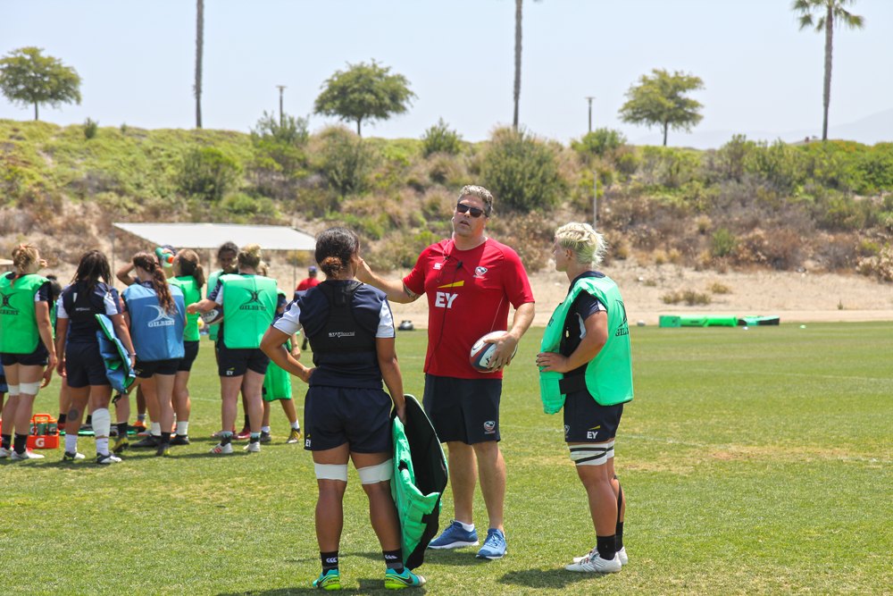 Halfway through Women's Rugby Super Series, USA Head Coach Rob Cain can see the program's bright future emerging