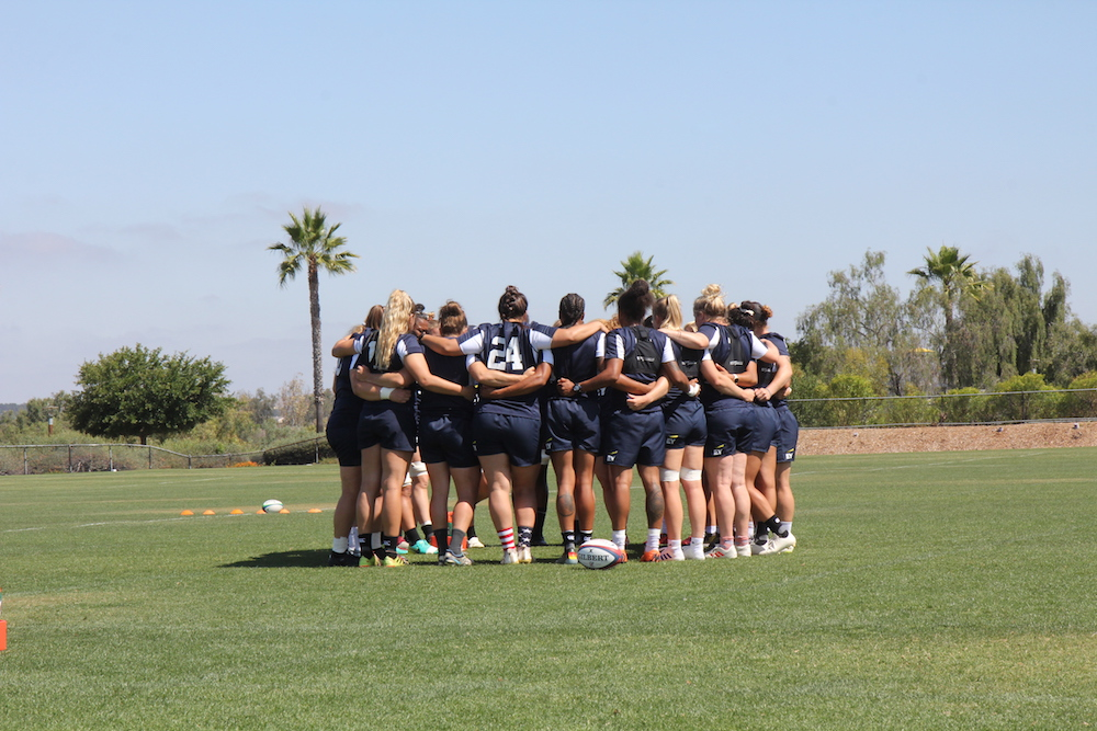 Coming Together In Support Of The Women's Eagles