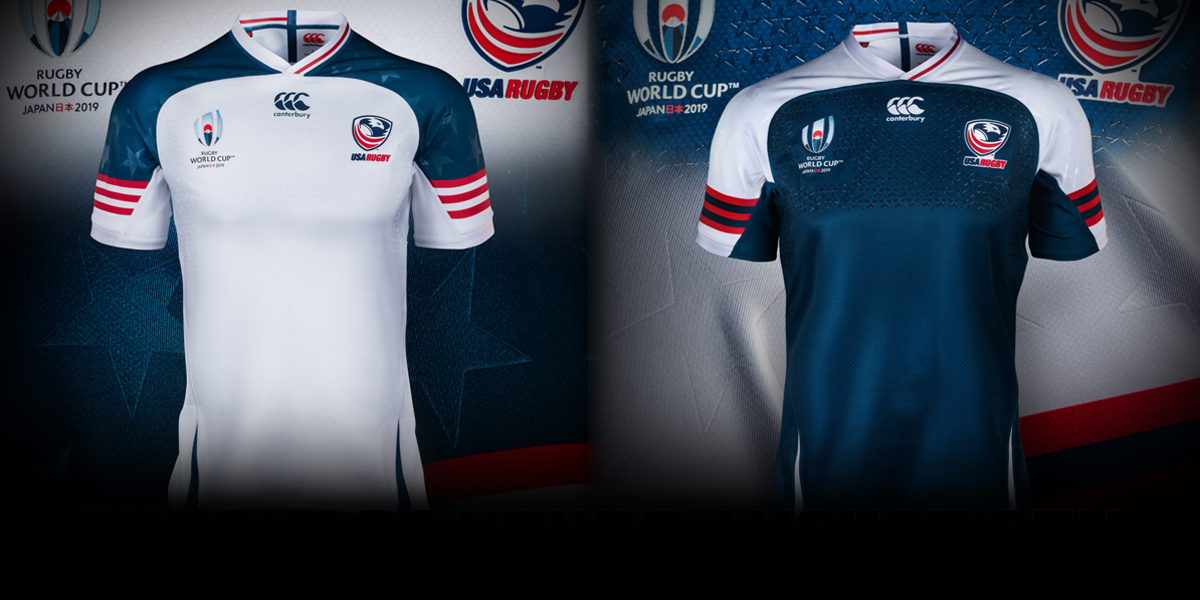 USA Rugby World Cup Jerseys